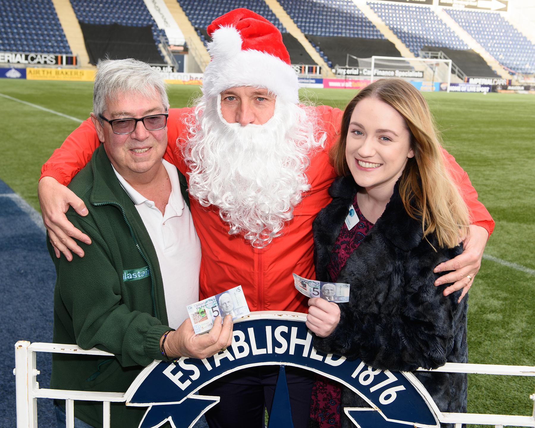Bairns Launch Secret Santa Appeal Falkirk Football Club