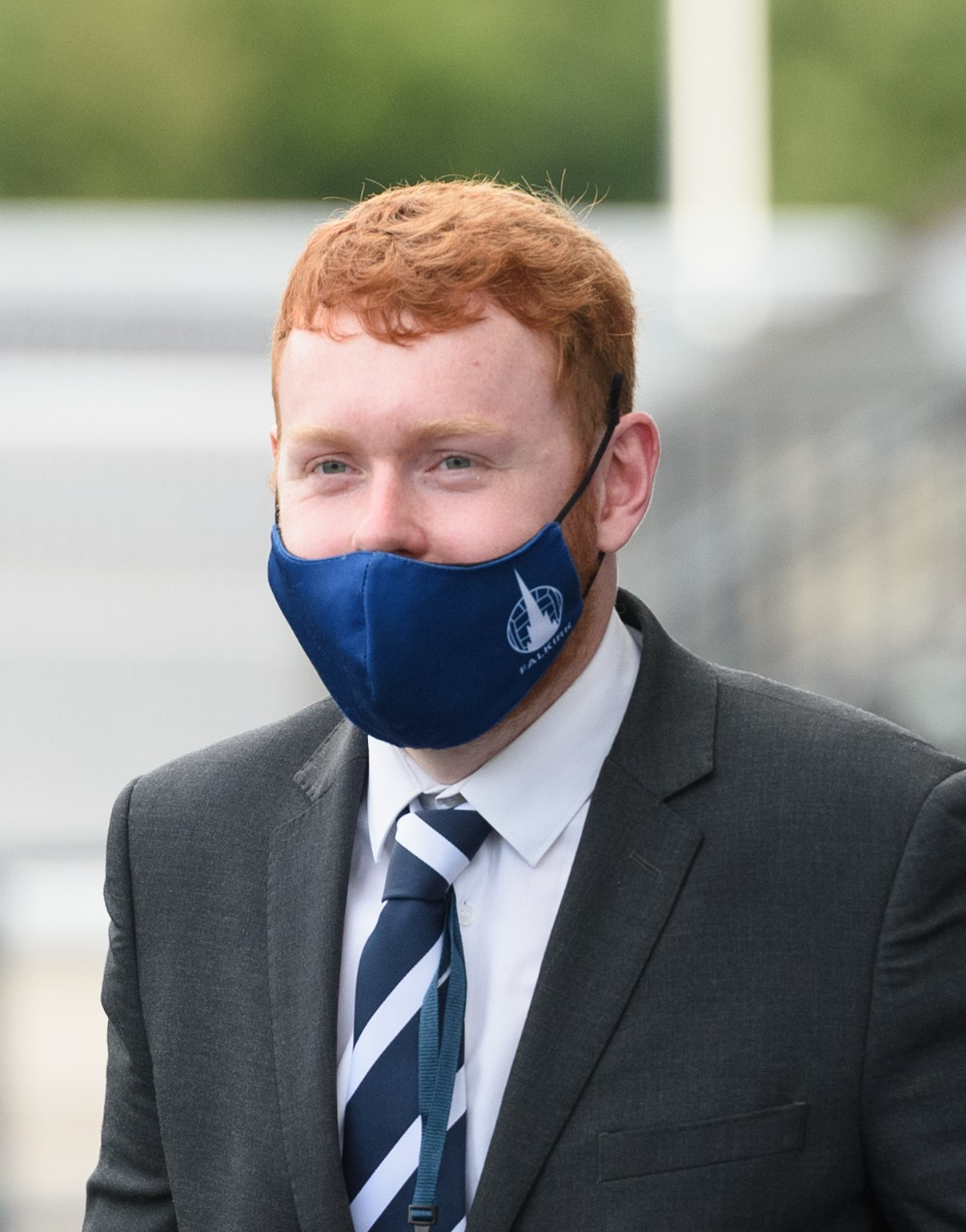 This image has been supplied to Falkirk FC staff for either personal use by players photographed or Commercial use by Falkirk FC.   Use by any other persons for any other purpose without the written permission of copyright holder Ian Sneddon is prohibited.